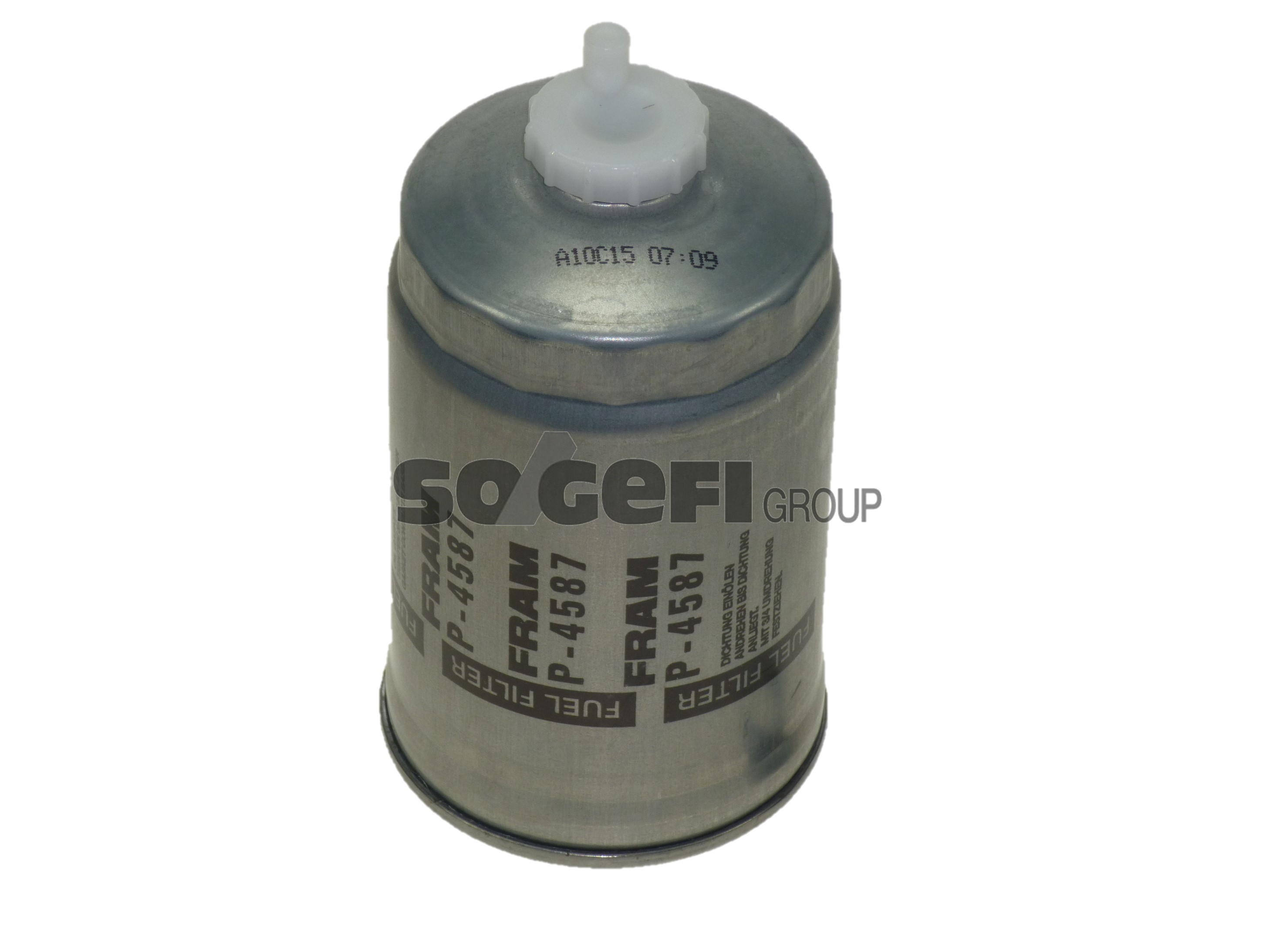 Diesel filter. P4587